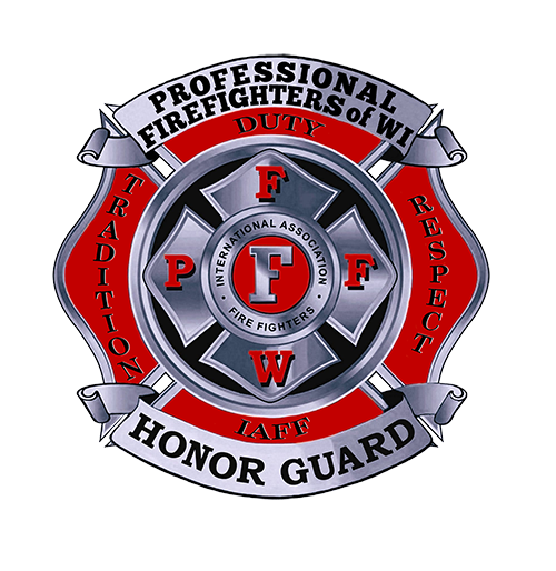 Professional Firefighters of Wisconsin Honor Guard